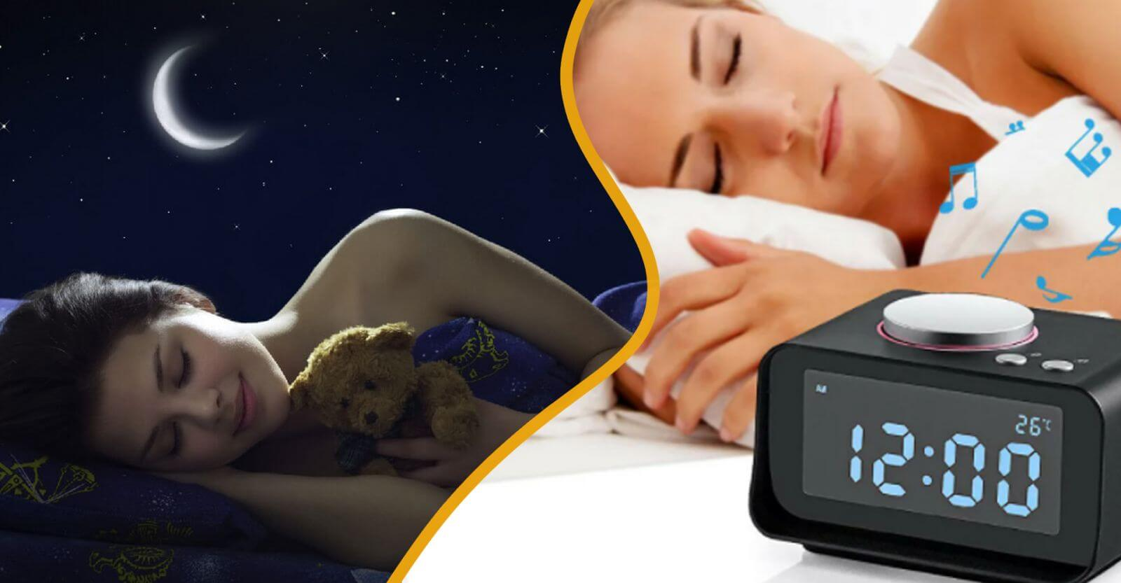 Обратите внимание на время сна