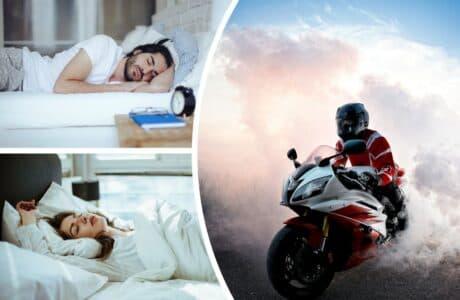 Їздити на мотоциклі уві сні
