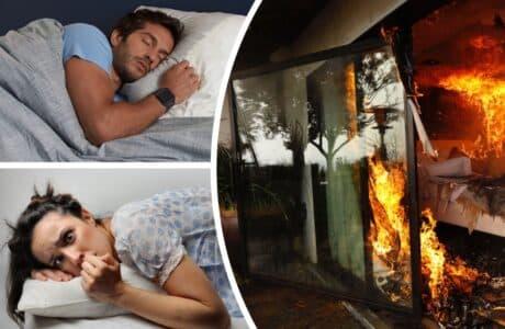 До чого сниться будинок після пожежі
