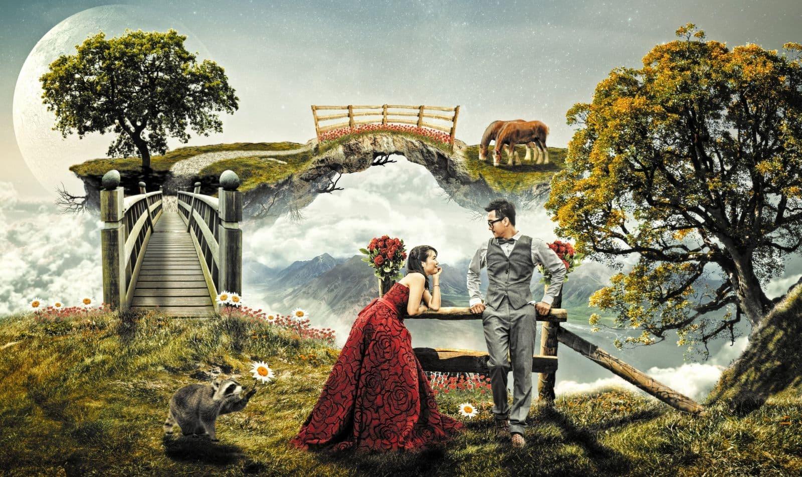 Романтический сон