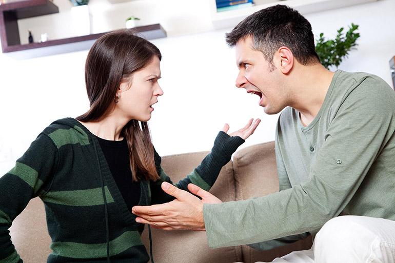 Конфликт с любимым человеком