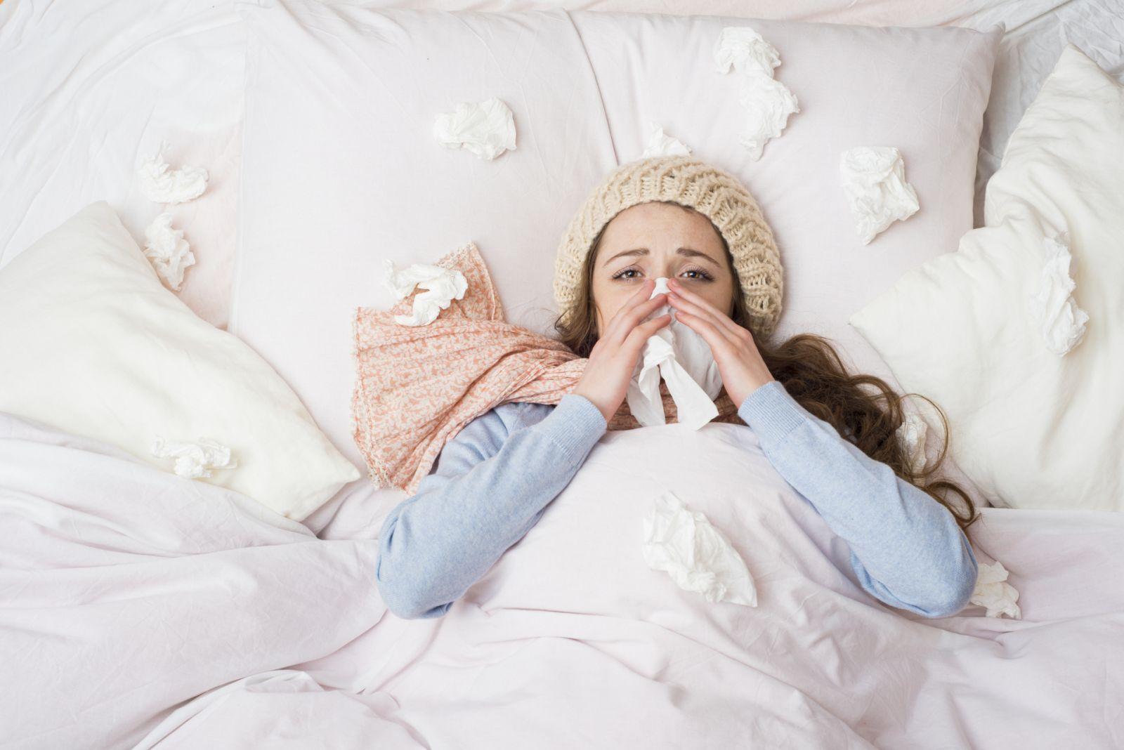 Дівчина хвора