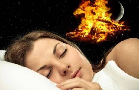 К чему снится тушить огонь