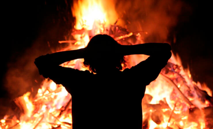 К чему снится огонь значение.