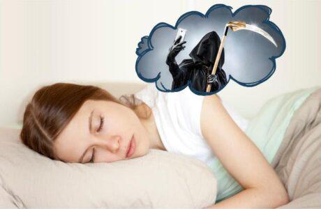 Що означає смерть уві сні
