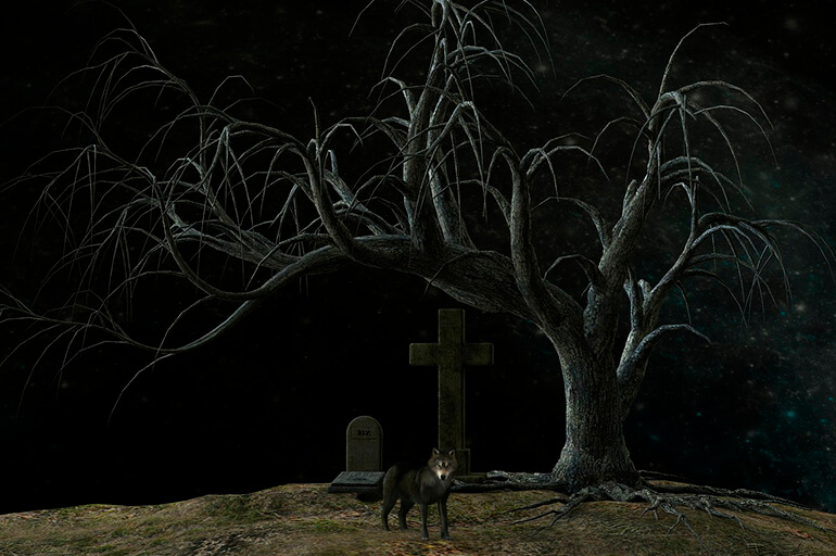 Нічне кладовище