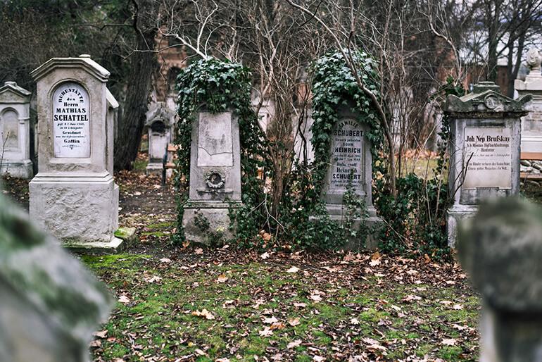 Прогулка по кладбищу
