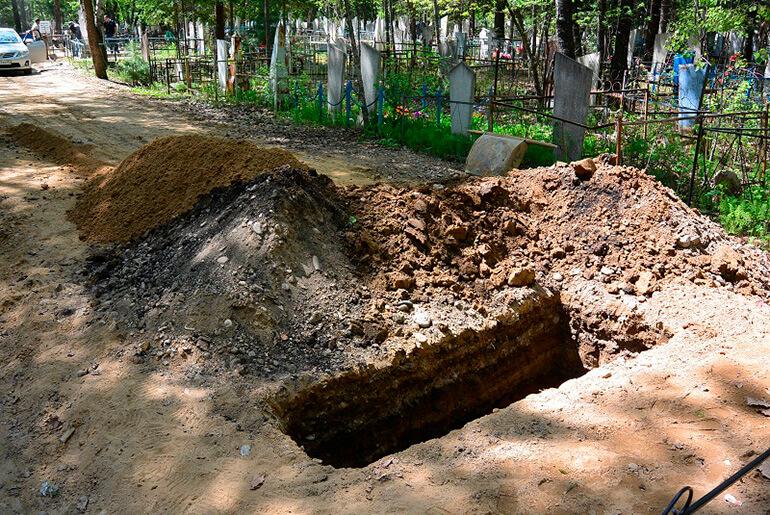 Розриті могили