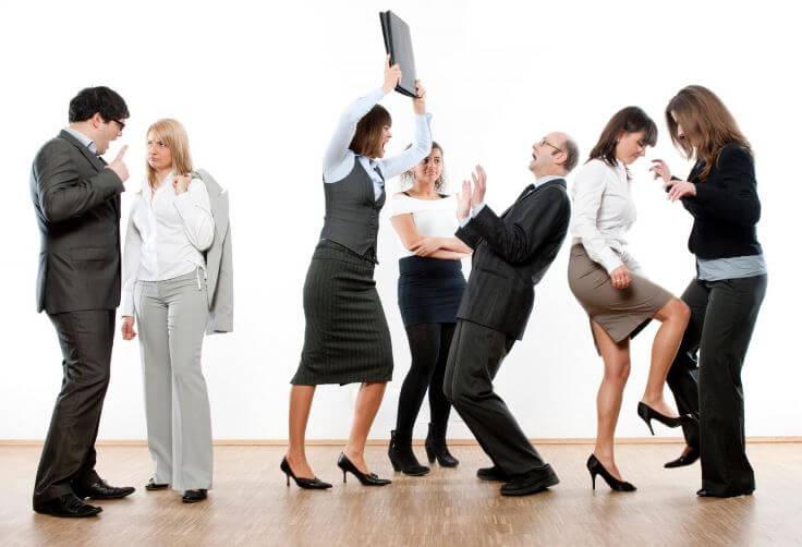 Ухудшение отношений с коллегами